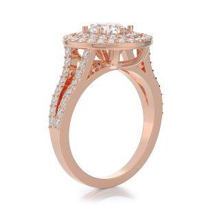 2.00 ctw Round cut Diamond Engagement Ring